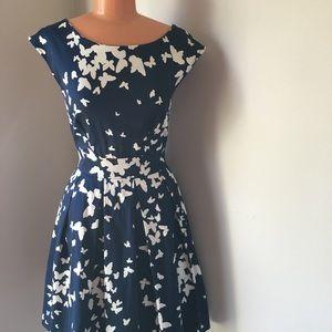 Fluttering Romance Dress in Butterflies -ModCloth